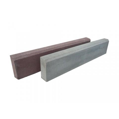 Бордюрный камень газонный вибропрессованный 1000*200*80