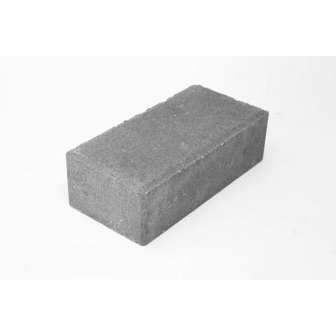 """Вибропресованная тротуарная плитка """"Кирпич""""  200*100*60 Серый"""