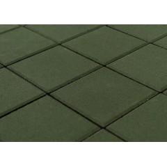 """Вибропресованная тротуарная плитка """"Квадрат"""" 400*400*60 Зеленый"""