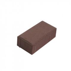 """Вибропресованная тротуарная плитка """"Кирпич"""" 200*100*60 коричневый"""