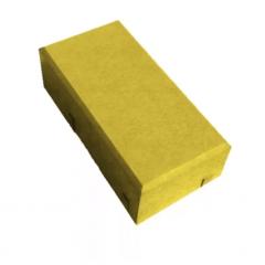 """Вибропресованная тротуарная плитка """"Кирпич""""  200*100*70 Желтый"""