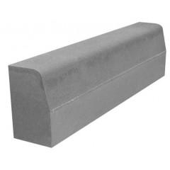Бордюрный камень дорожный вибропрессованный 1000*300*180