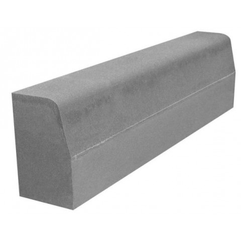 Бордюрный камень дорожный вибропрессованный 1000*300*150